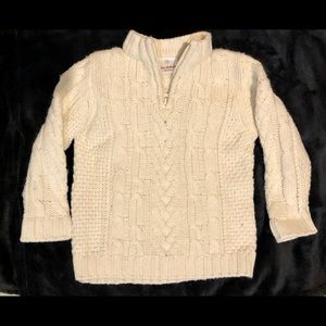 Hanna Andersson Cable knit sweater